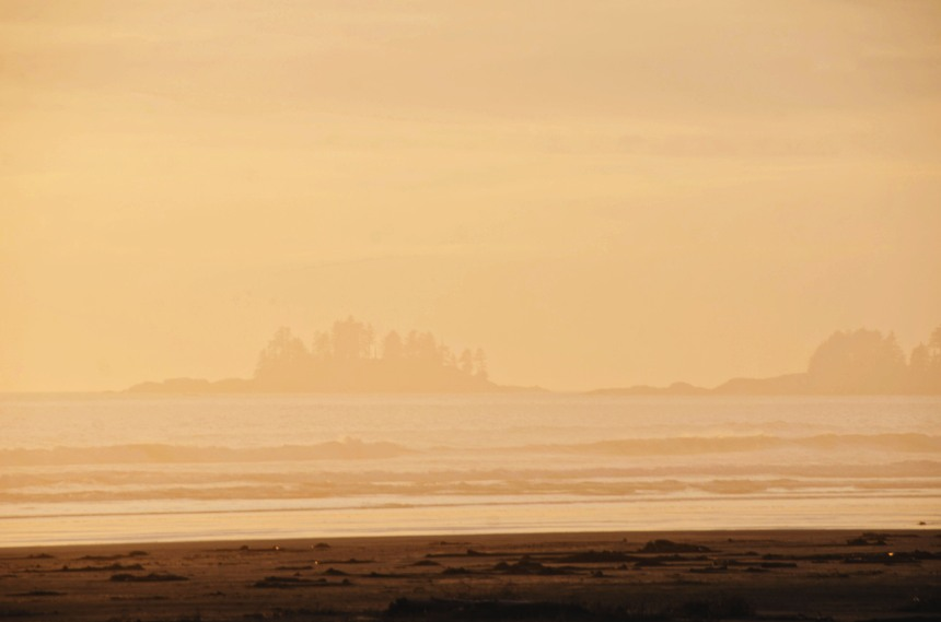 chesterman beach pacific rim sunset 2
