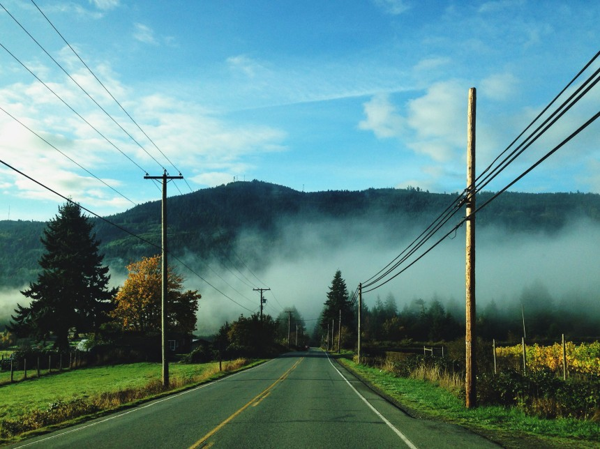 Salt Spring Island BC road trip