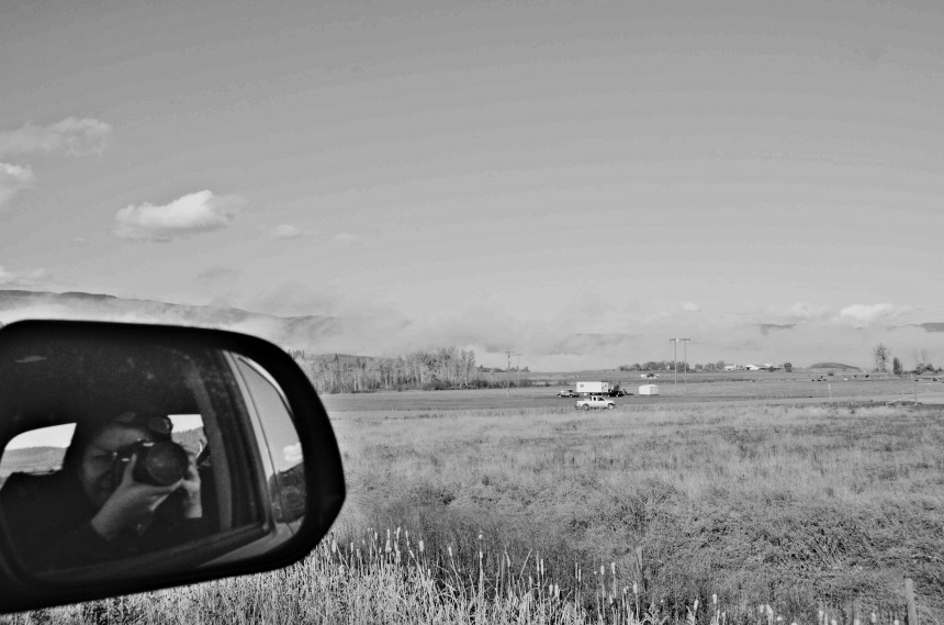 BC Canada road trip selfie