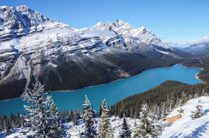 Alberta Canada roadtrip Banff Bow Summit 2