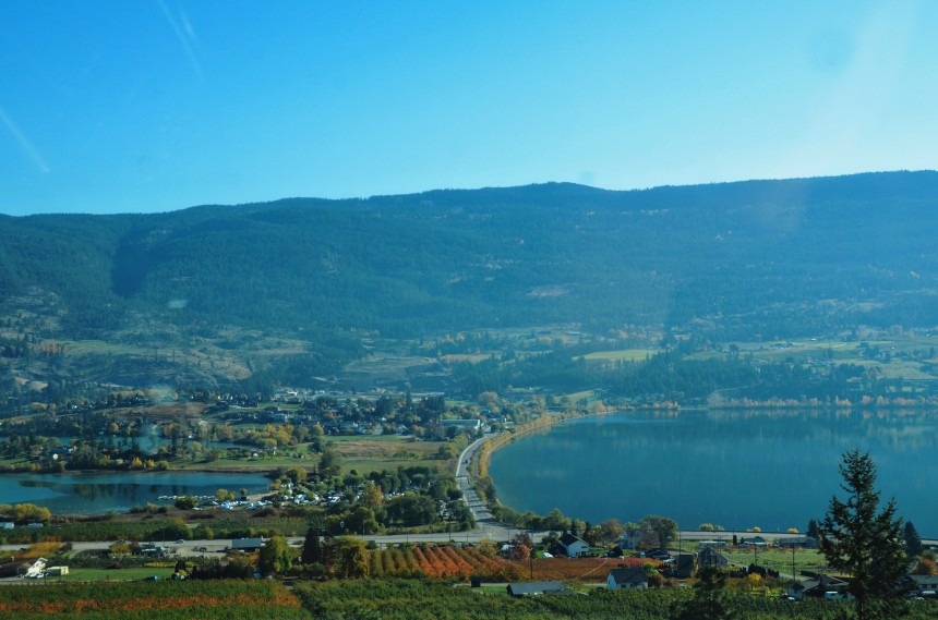BC Canada road trip lakes