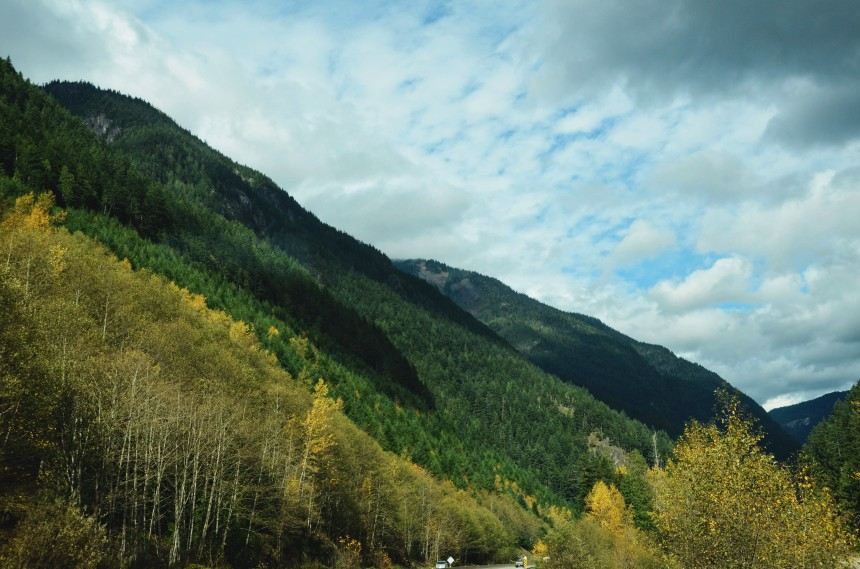 BC Canada road trip mountains
