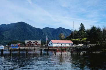 the Tofino Air dock