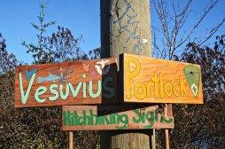 Salt Spring Road signage