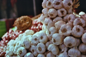 Roadside garlic