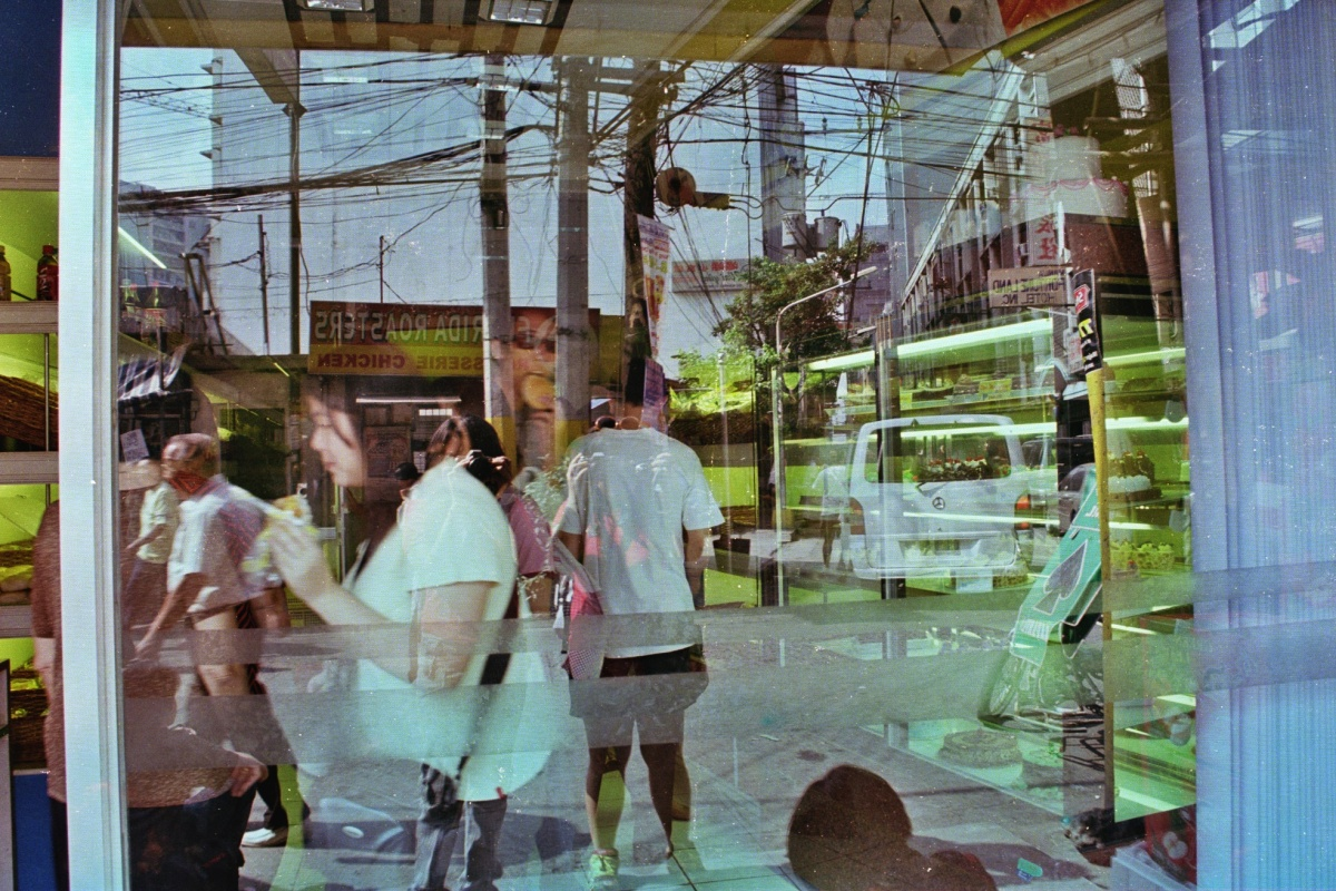 Manila Textures: Binondo in Expired Fujicolor Superia